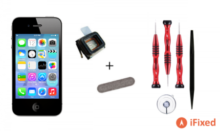 iPhone 4s ear speaker repair kit by iFixed
